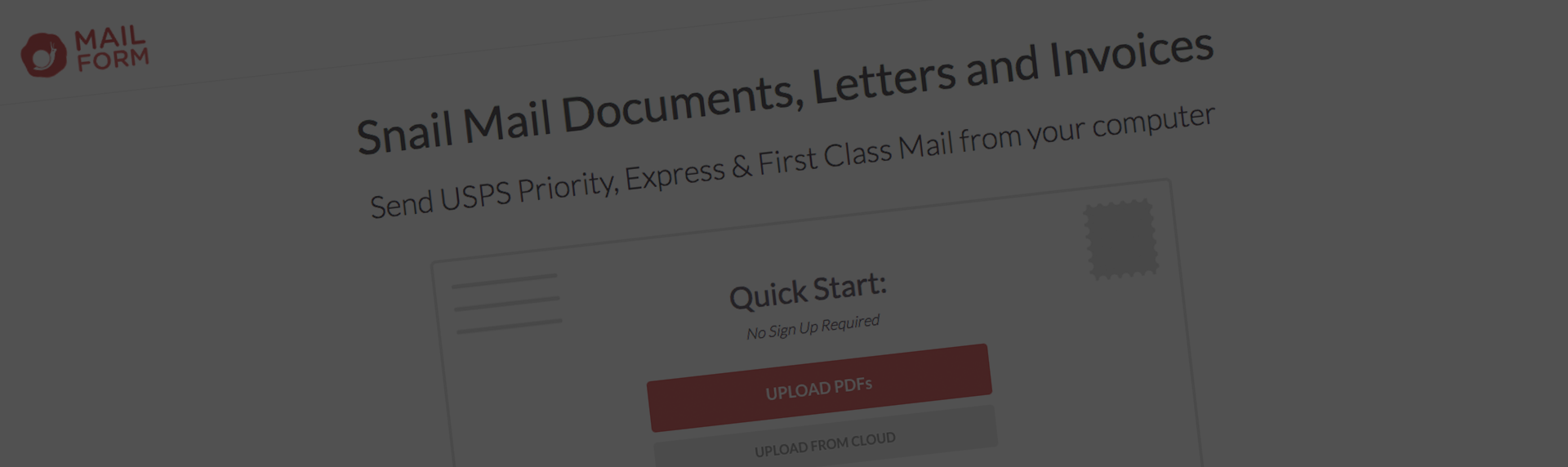 Safe Invoices and Estimated Emailing with Snail Mail Feature